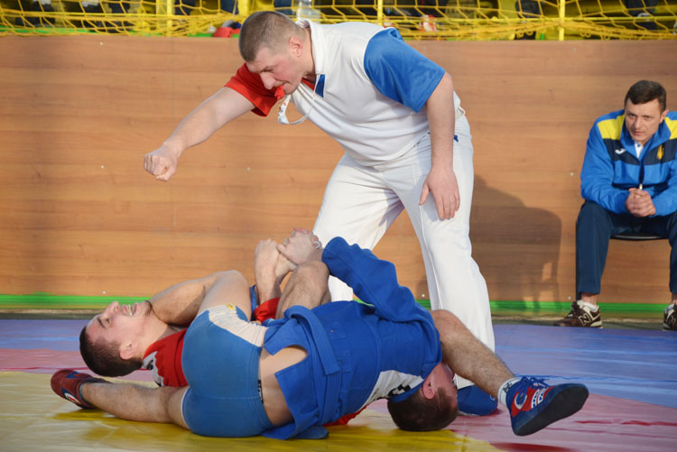 The Ukrainian SAMBO Cup in Lutsk: Qualification For National Team Goes On