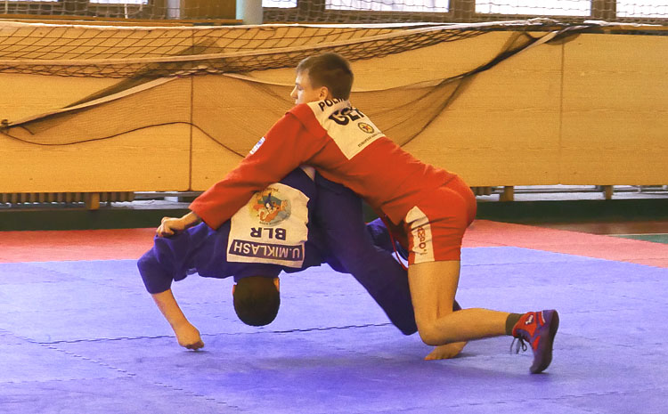 SAMBO Tournament Was Held In Prague At The 'Guard Of Honour 2018' Festival
