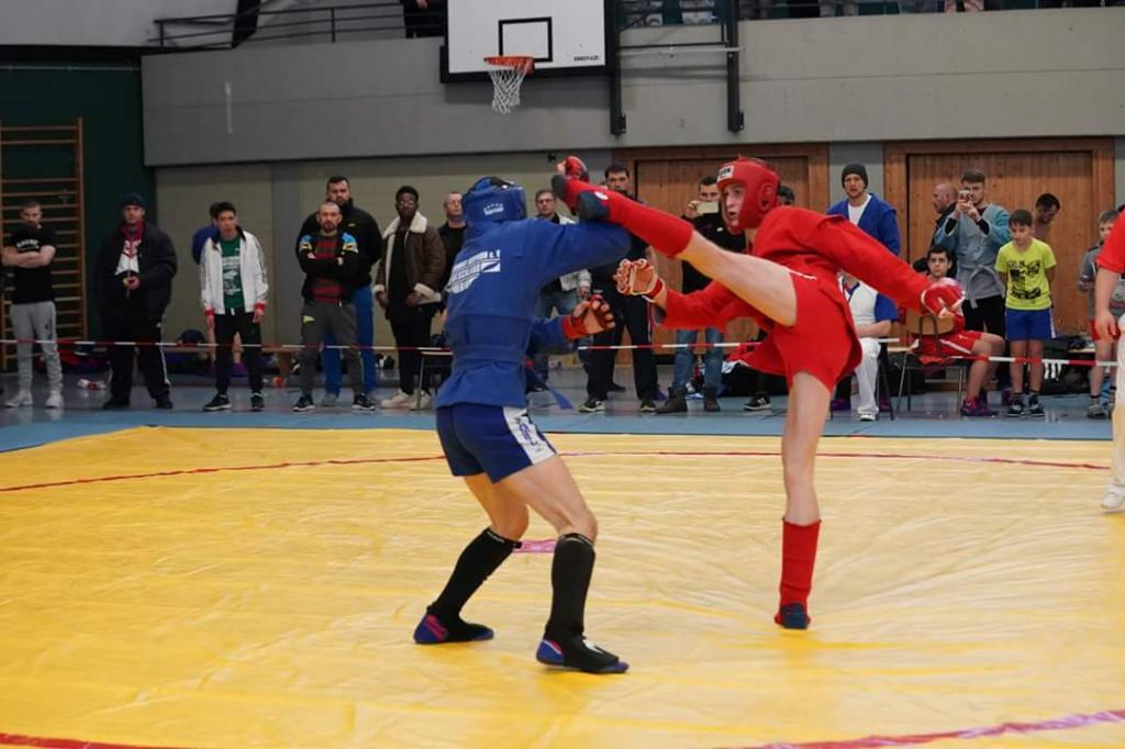 SAMBO Championships of Germany Were Held In Alzey